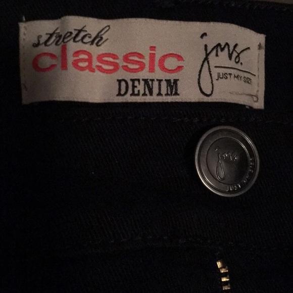 Just My Size Denim - Just My Size Black Stretch Classic Denim NWOT SOLD